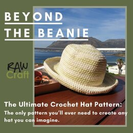 Ultimate Crochet Hat Pattern with Sizing Templates