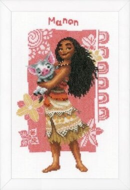 Vervaco Moana & Pua Cross Stitch Kit - PN-0168572