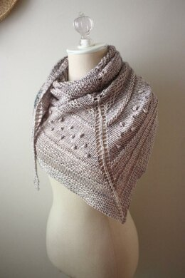 Texelle Chunky Shawl Knitting Pattern By Brenda Lavell