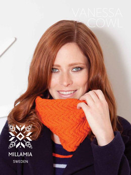 Vanessa Cowl in MillaMia Merino Wool - Downloadable PDF
