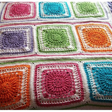 Autumn Warmth Afghan Square