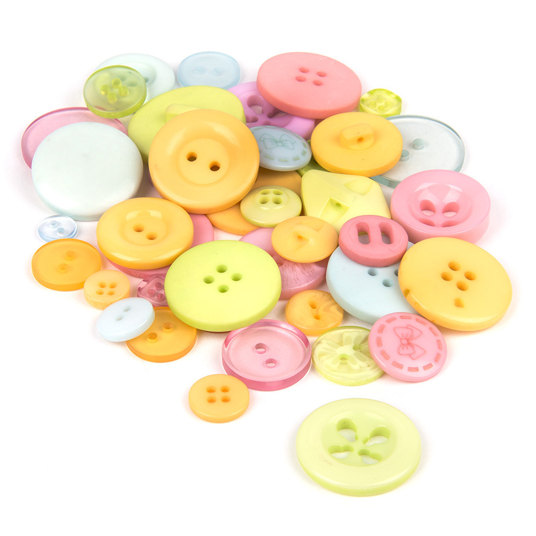 Buttons for knitting