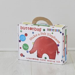 Buttonbag Elephant First SewingKit