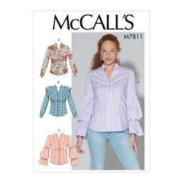 McCall's Misses' Tops M7811 - Sewing Pattern