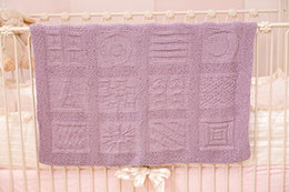 Reversible Block-Motif Blanket in Tahki Yarns Cotton Classic