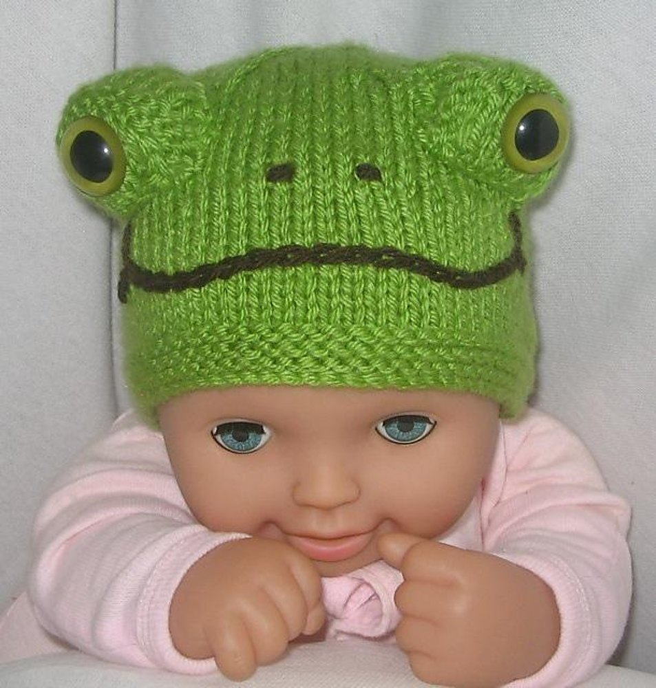 Ladybird & Frog Beanies / Hats Knitting pattern by Rian Anderson ...