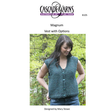 Vest with Options in Cascade Magnum - B105