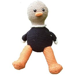 Amigurumi Morne the Ostrich