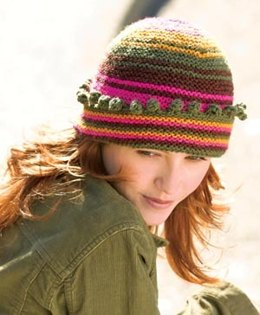 Carousel Hat in Lion Brand Wool-Ease