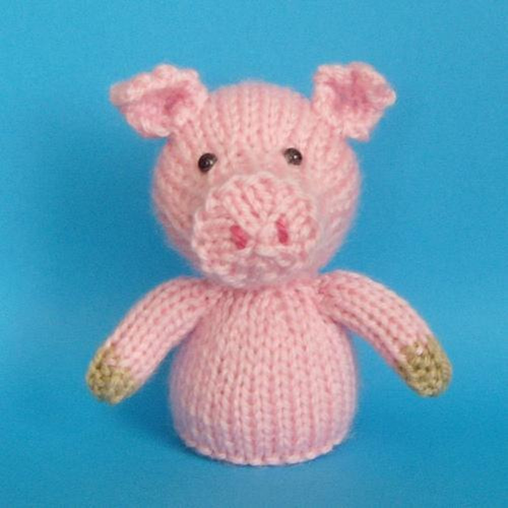 Jelly Bums Pig Knitting pattern by Raynor Gellatly | Crochet ...