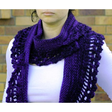 Chunky Scallop Scarf