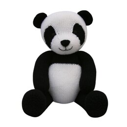 Panda (Knit a Teddy)