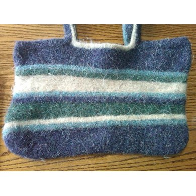 Tipsy Felted Bag
