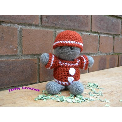 Inchoate Gingerbread Man Hat And Sweater Crochet Pattern By Itchy