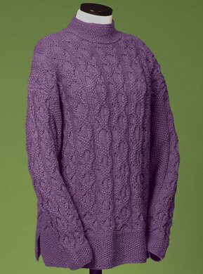 Double Chain Cable Pullover #117