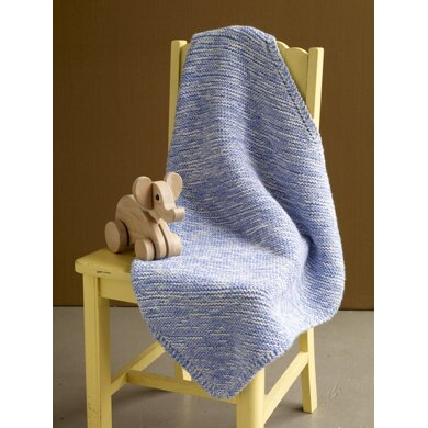 Neptune Baby Throw in Lion Brand Babysoft - Downloadable PDF