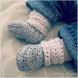 Slouchy Baby Boots