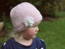 Amelia Hat with Flower