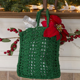 Nick of Time Gift Bag in Red Heart US - LW3199 - Downloadable PDF