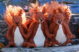 Red Squirrel Sisters