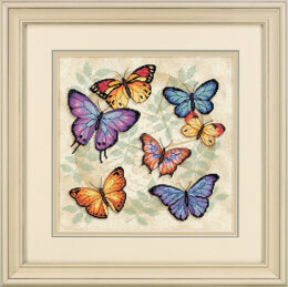 Dimensions Butterfly Profusion Cross Stitch Kit - 28cm x 28cm