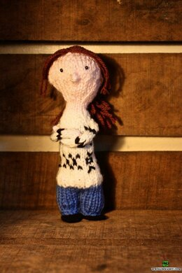 Little Knitted Sarah Lund - The Killing