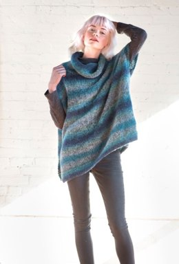 Mera Poncho in Berroco Aero - 401-5 - Downloadable PDF
