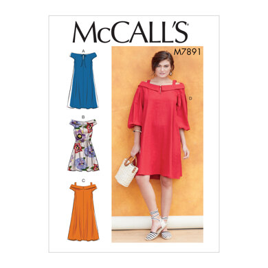 McCall's Misses' Dresses M7891 - Sewing Pattern