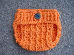 Pumpkin Diaper Cover