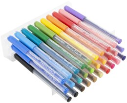 We R Memory Keepers Fabric Quill Permanent Pens 30/Pkg - Assorted Colors