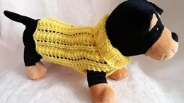 Easy Lace Dog Sweater