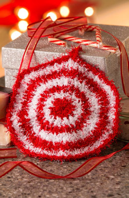 Peppermint in Red Heart Scrubby - LW5041 - Downloadable PDF