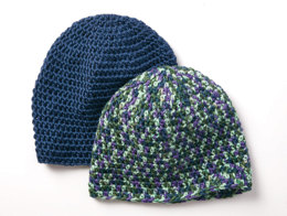 Beginner Beanie in Caron Simply Soft - Downloadable PDF
