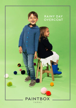 Rainy Day Overcoat Knitting Kit in Paintbox Yarns