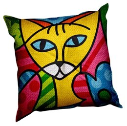 Margot Colourful Cats Tapestry Cushion Kit - 40cm x 40cm