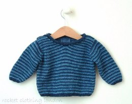 Baby Boy Sweater 'Multi Stripe'