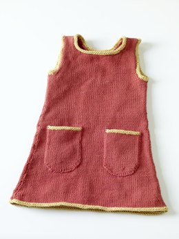 Knit Sundress in Lion Brand Cotton-Ease - 70238AD