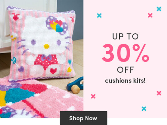 Up to 30 percent off cushion kits!