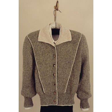 Mari Sweaters MS 110 V Piping Jacket