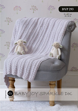 Throw in DY Choice Baby Joy Sparkle DK - Downloadable PDF