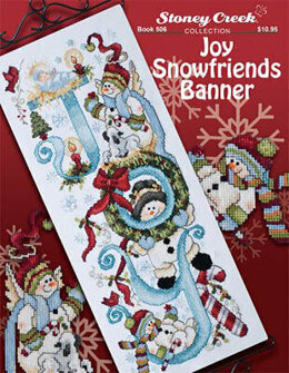 Stoney Creek Joy Snowfriends Banner - Book - SCB506 -  Leaflet