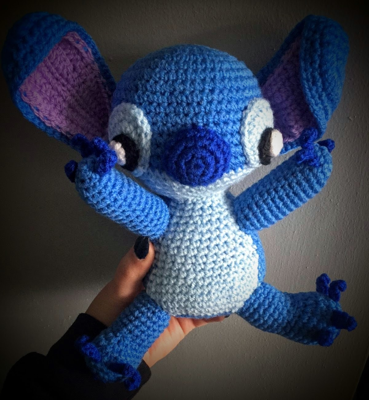 Amigurumi Stitch from Lilo & Stitch crochet project by ...