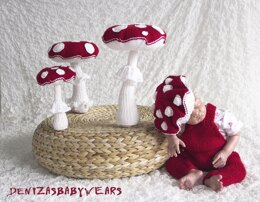 Fly Agarics and baby beret