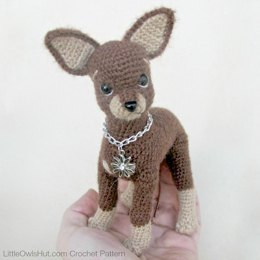 059 Dog Toy Terrier amigurumi