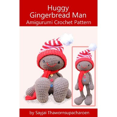 Huggy Gingerbread Man Christmas Crochet Pattern Crochet Pattern By