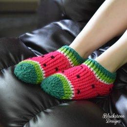 Watermelon Chunky Slippers - Adult