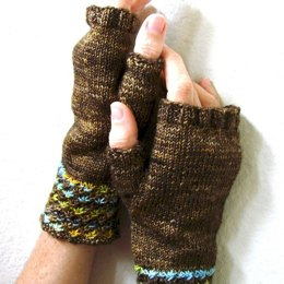 Daisy Mitts in Madelinetosh Tosh Sock