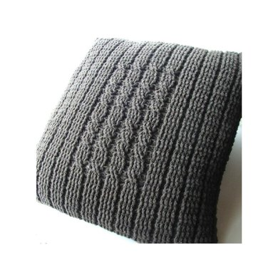 Four Post Cabled Pillow