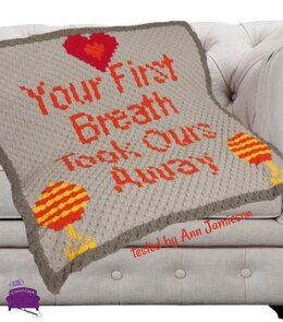 Your First Breath Baby Afghan