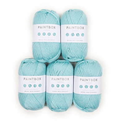 Paintbox Yarns Wool Mix Chunky 5 Ball Value Pack